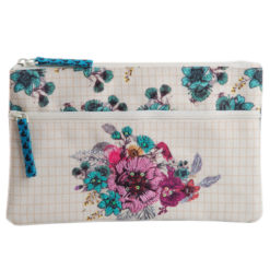 Blossom Two Zipper Pouch