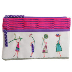 The Glee Girls Two Zipper Pouch