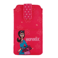 Shopaholic Smart Phone Cover