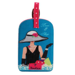 Born to Shop Luggage Tag