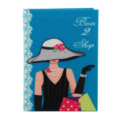 Born to Shop Notebook 7″×5″ Inches..