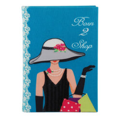 Born to Shop Notebook 8.5″×6″