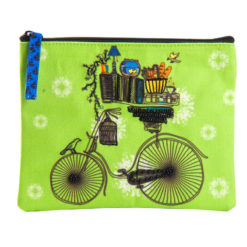 Brain Bridge Cycle Coin Pouch