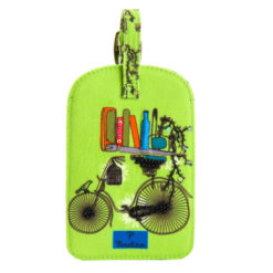 Brain Bridge Cycle Luggage Tag