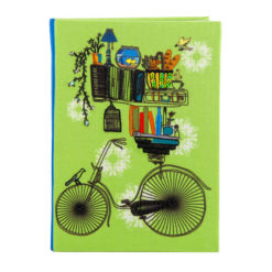 Brain Bridge Cycle Notebook 7″×5″ Inches (B6)