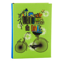 Brain Bridge Cycle Notebook 8.5″×6″