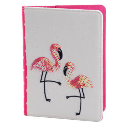 Flamingo Blush Passport Holder