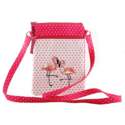 Flamingo Blush Sling Bag