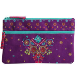 Funky Town Two Zipper Pouch