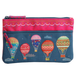 High on Happiness Two Zipper Pouch