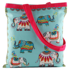 Jumbo-Trunk Canvas Tote Bag