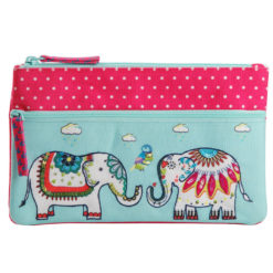 Jumbo-Trunk Two Zipper Pouch