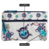 Monday Blues Two Zipper Pouch