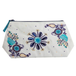 Monday Blues Cosmetic Bag