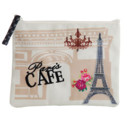 Paris Café Coin Pouch