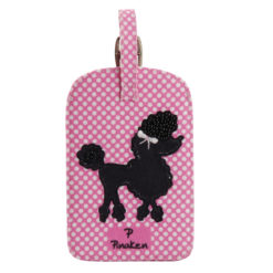 Poodle Pop Luggage Tag