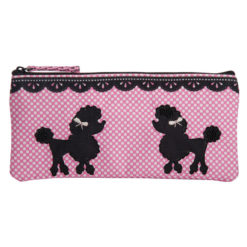 Poodle Pop Pencil Pouch