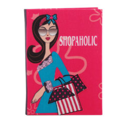 Shopaholic Notebook 7″×5″ Inches (B6)