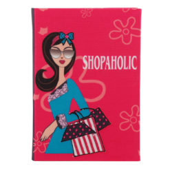 Shopaholic Notebook 8.5″×6″