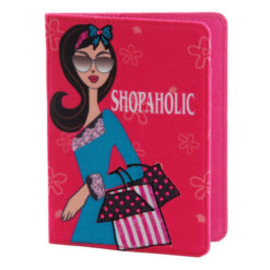 Shopaholic Passport Holder