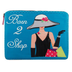Born to Shop Laptop Sleeve