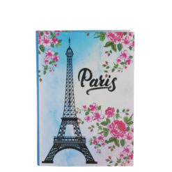 "Paris Eiffelterm Luxury Flexible Cover Paper Notebook 7""x5"" Inches (B6)"