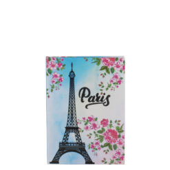 "Paris Eiffelterm Luxury Flexible Cover Paper Notebook 6""x4"" Inches (A6)"