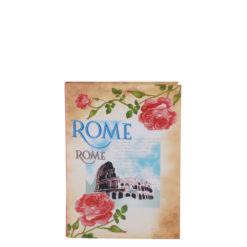 "Vintage Rome Luxury Flexible Cover Paper Notebook 6""x4"" Inches (A6)"