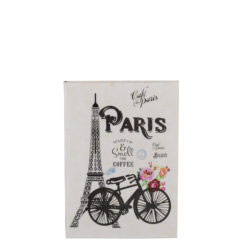 """Paris Romance Luxury Flexible Cover Paper Notebook 6""""x4"""" Inches (A6)"""