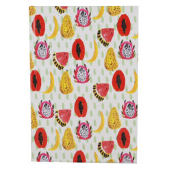 "Tropical Hard Case Cover Paper Notebook 8.5""x6"" Inches (A5)"
