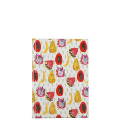 "Tropical Hard Case Cover Paper Notebook 6""x4"" Inches (A6)"