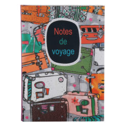 "Notes de Voyage Luxury Flexible Cover Paper Notebook 8.5""x 6"" Inches (A5)"
