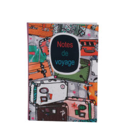 "Notes de Voyage Luxury Flexible Cover Paper Notebook 7""x 5"" Inches (B6)"