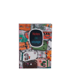 """Notes de Voyage Luxury Flexible Cover Paper Notebook 6""""x4"""" Inches (A6)"""