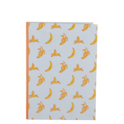 "Go Banana Luxury Flexible Cover Paper Notebook 7""x 5"" Inches (B6)"