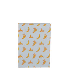 """Go Banana Luxury Flexible Cover Paper Notebook 6""""x4"""" Inches (A6)"""