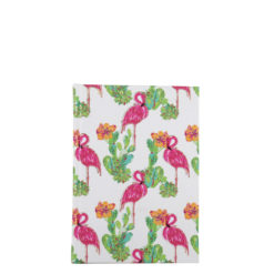 "Tropical Flemingo Hard Case Cover Paper Notebook 6""x4"" Inches (A6)"