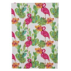 "Tropical Flemingo Luxury Flexible Cover Paper Notebook 8.5""x 6"" Inches (A5)"