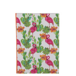 "Tropical Flemingo Luxury Flexible Cover Paper Notebook 7""x 5"" Inches (B6)"