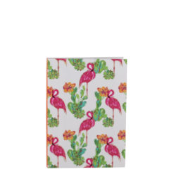 "Tropical Flemingo Luxury Flexible Cover Paper Notebook 6""x4"" Inches (A6)"