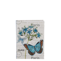 "Botanical Butterfly Luxury Flexible Cover Paper Notebook 6""x4"" Inches (A6)"