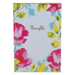"Paint My Thoughts Hard Case Cover Paper Notebook 8.5""x6"" Inches (A5)"
