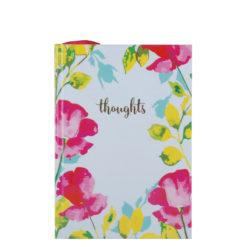"Paint My Thoughts Hard Case Cover Paper Notebook 7""x5"" Inches (B6)"