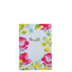 "Paint My Thoughts Hard Case Cover Paper Notebook 6""x4"" Inches (A6)"