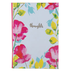 "Paint My Thoughts Luxury Flexible Cover Paper Notebook 8.5""x6"" Inches (A5)"