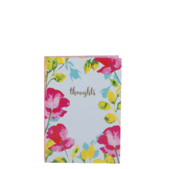 "Paint My Thoughts Luxury Flexible Cover Paper Notebook 6""x4"" Inches (A6)"