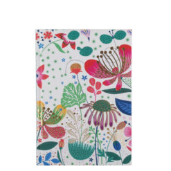 "Botanical Asteracea Hard Case Cover Paper Notebook 7""x5"" Inches (B6)"