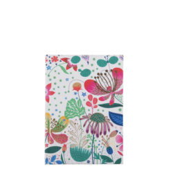 "Botanical Asteracea Hard Case Cover Paper Notebook 6""x4"" Inches (A6)"