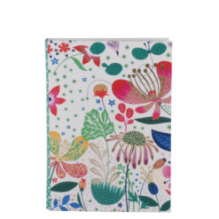 "Botanical Asteracea Luxury Flexible Cover Paper Notebook 7""x5"" Inches (B6)"