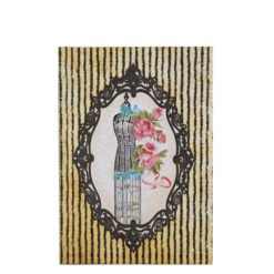 """Vintage Mannequin Hard Case Cover Paper Notebook 7""""x5"""" Inches (B6)"""